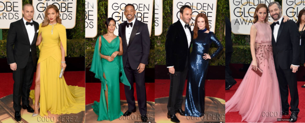 golden globes - couples 1