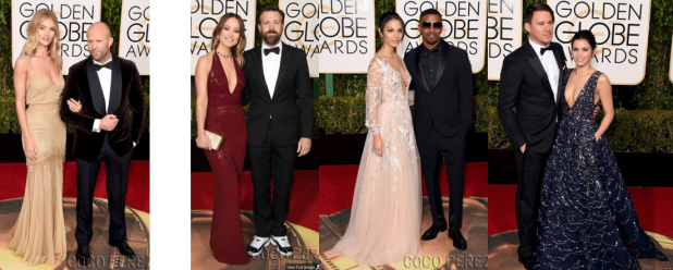 golden globes - couples 2